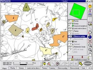 Aplikace Field-Map Data Collector